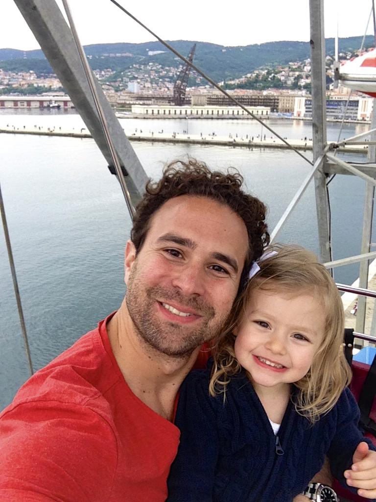 Daddy/Julia selfie