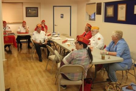 2015 Membership Meeting Legion Hall 18