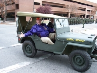 Gordon riding during parade.JPG