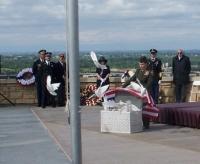 Memorial Day, 2011 Doves being released.JPG