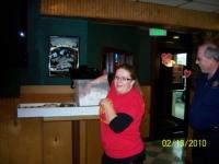 Feb13, 2010 Winning ticket being drawn by employee of Quinn's restaurant.JPG