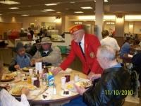 Nov10, 2010_ Arnie Strawn, DetCmdt, serving cake.JPG