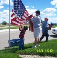Jun11,2010_ Preparing for Flag Day.JPG