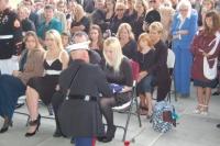 Capt Stephensen presenting flag to Lcpl Roberts wife.jpg