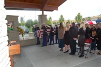 Lcpl Cody Roberts coffin being brought in for services.jpg