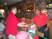 Lou Roane presents John Walker with certificate.JPG