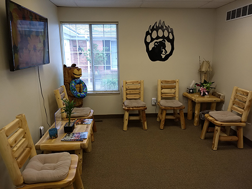 Waiting Area. Chiropractic Cottage & Wellness Center in Troy, MI