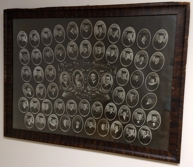 Ross Chiropractic Cottage - Class of 1920