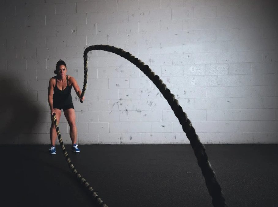 ropes HIIT