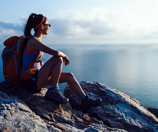 female-hiking