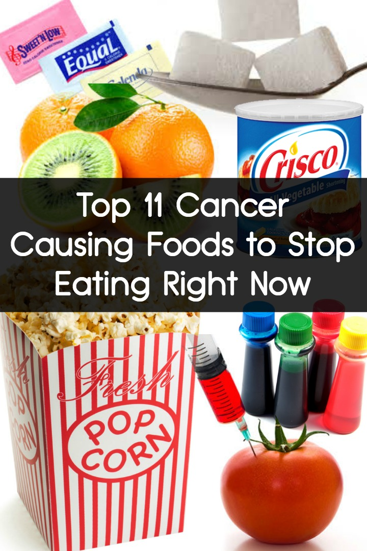 Top 11 Cancer Causing Foods to Stop Eating Right Now ~