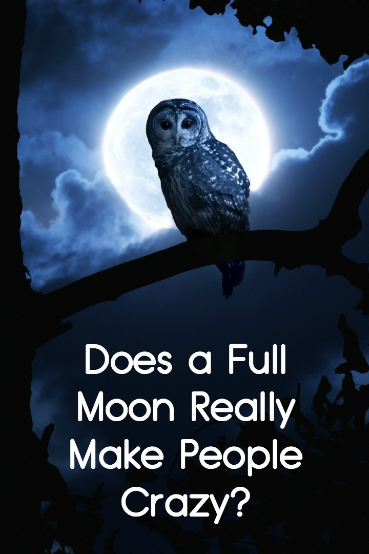 Does a Full Moon Really Make People Crazy? ~