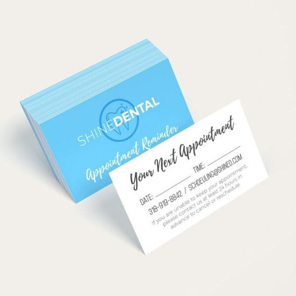 Appointment Cards, Appointment PostCards