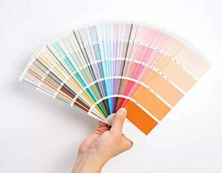 variety of paints