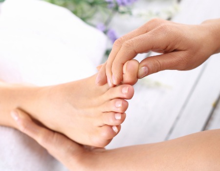 In-home Foot Treatment