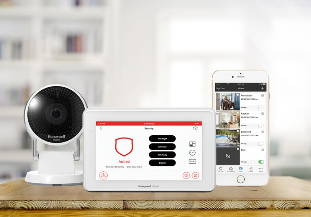 Nelson connected security alarm system