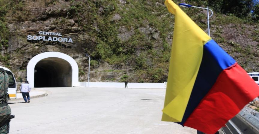 Ecuador Paute - Sopladora Hydropower Plant – Financed $570 million USD.