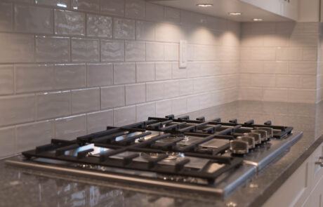 Gas Cooktop in Paris Quartz by Cambria