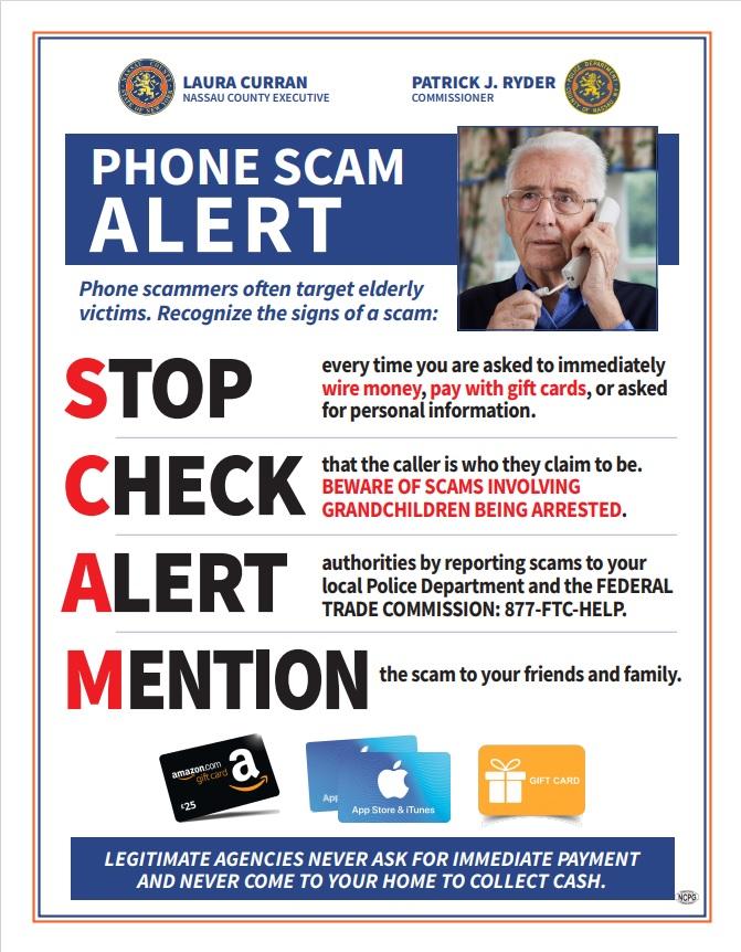Phone Scam Alert