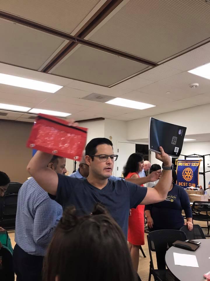 Backpacks Rotary Club of Irvine 12
