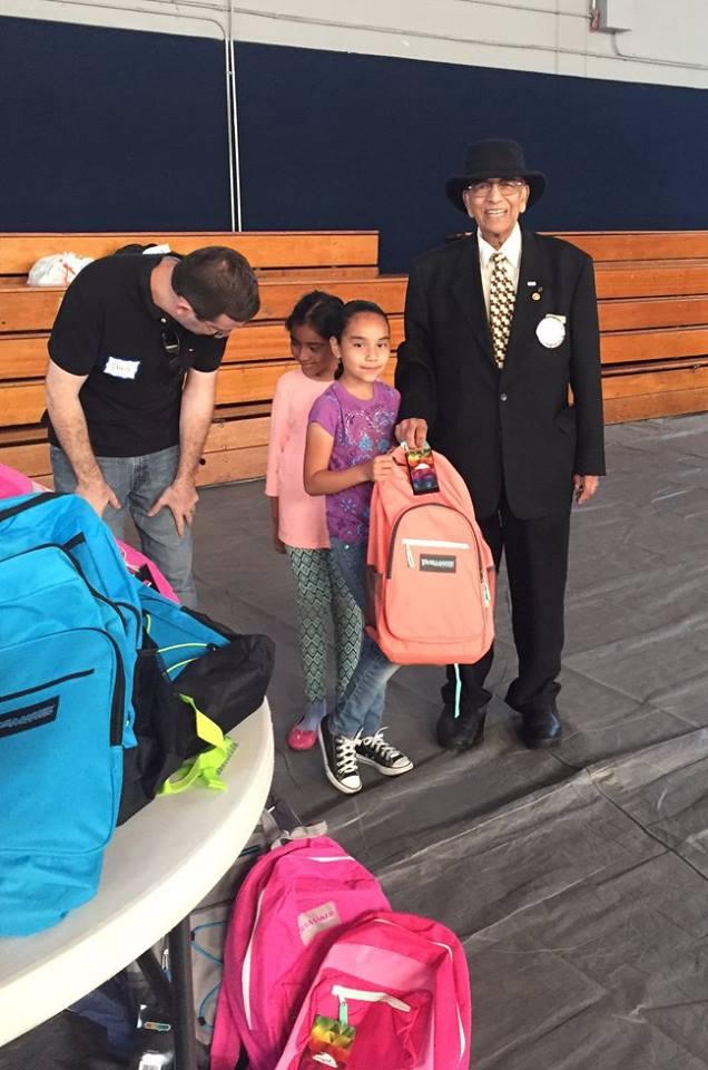 Backpacks Rotary Club of Irvine 4