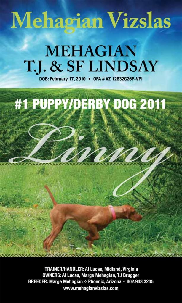 "Mehagian's T.J. & SF Lindsay (""Linny"")"