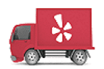 yelp linked page in yelp logo