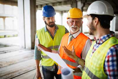 construction team meeting