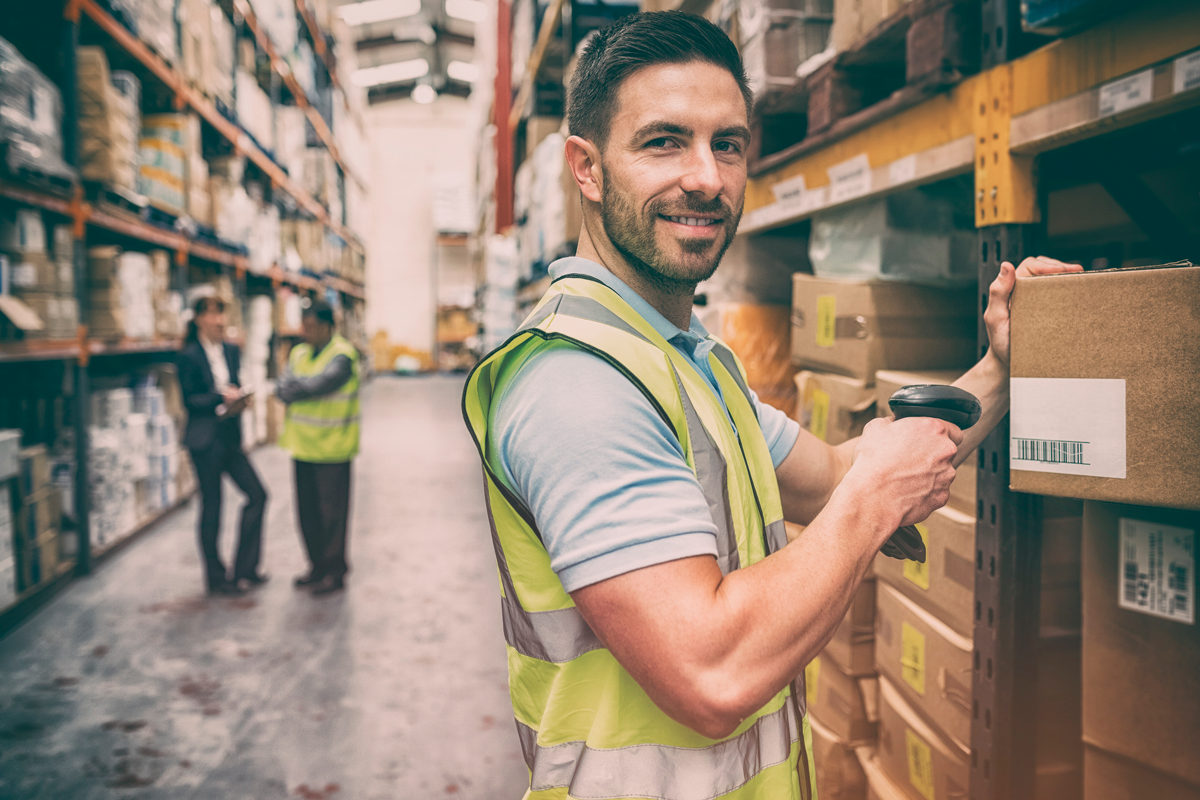 warehouse distribution worker