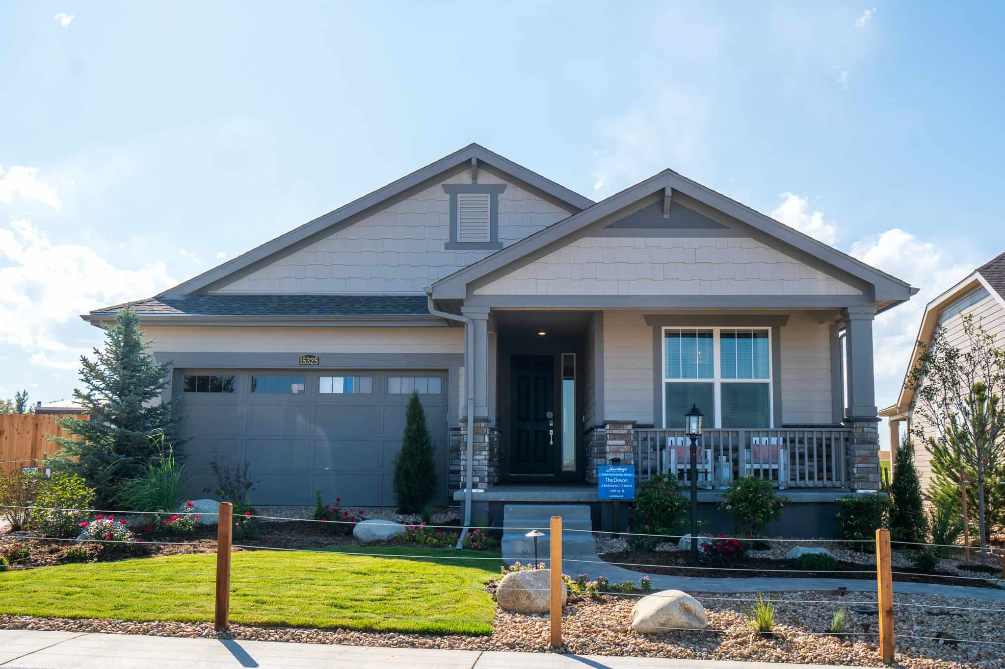 Heritage Todd Creek - The Masters Collection by Lennar Homes
