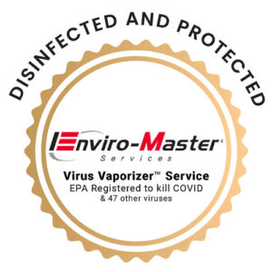 EMS Enviro Master Services Disinfected and protected virus vaporizer service epa registered to kill COVID