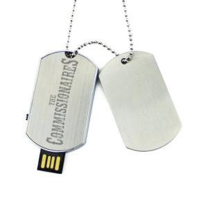 Dog Tag USB necklace