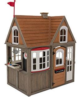 KidKraft wooden playhouse