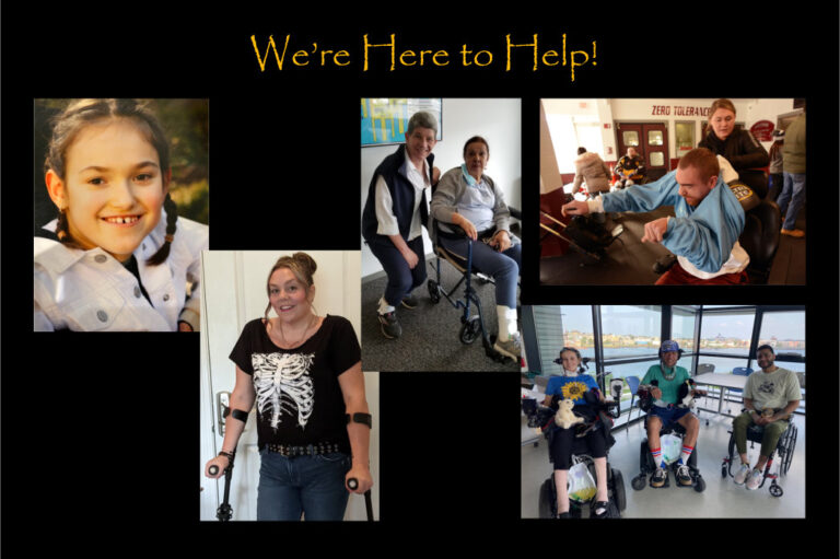 We're here to help, regardless of your disability!
