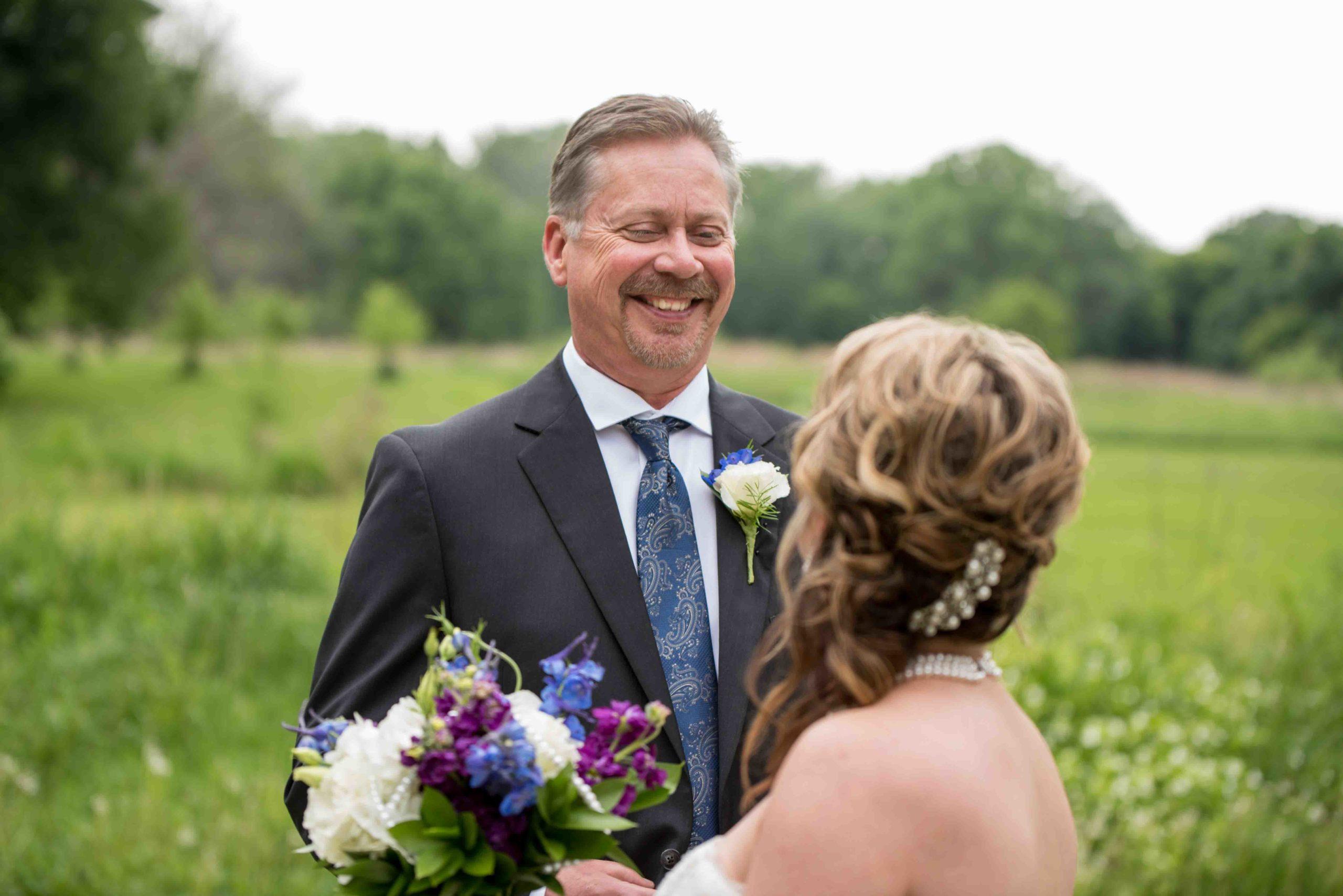 First Look - Wedding on Magnolia Blossom Cruises