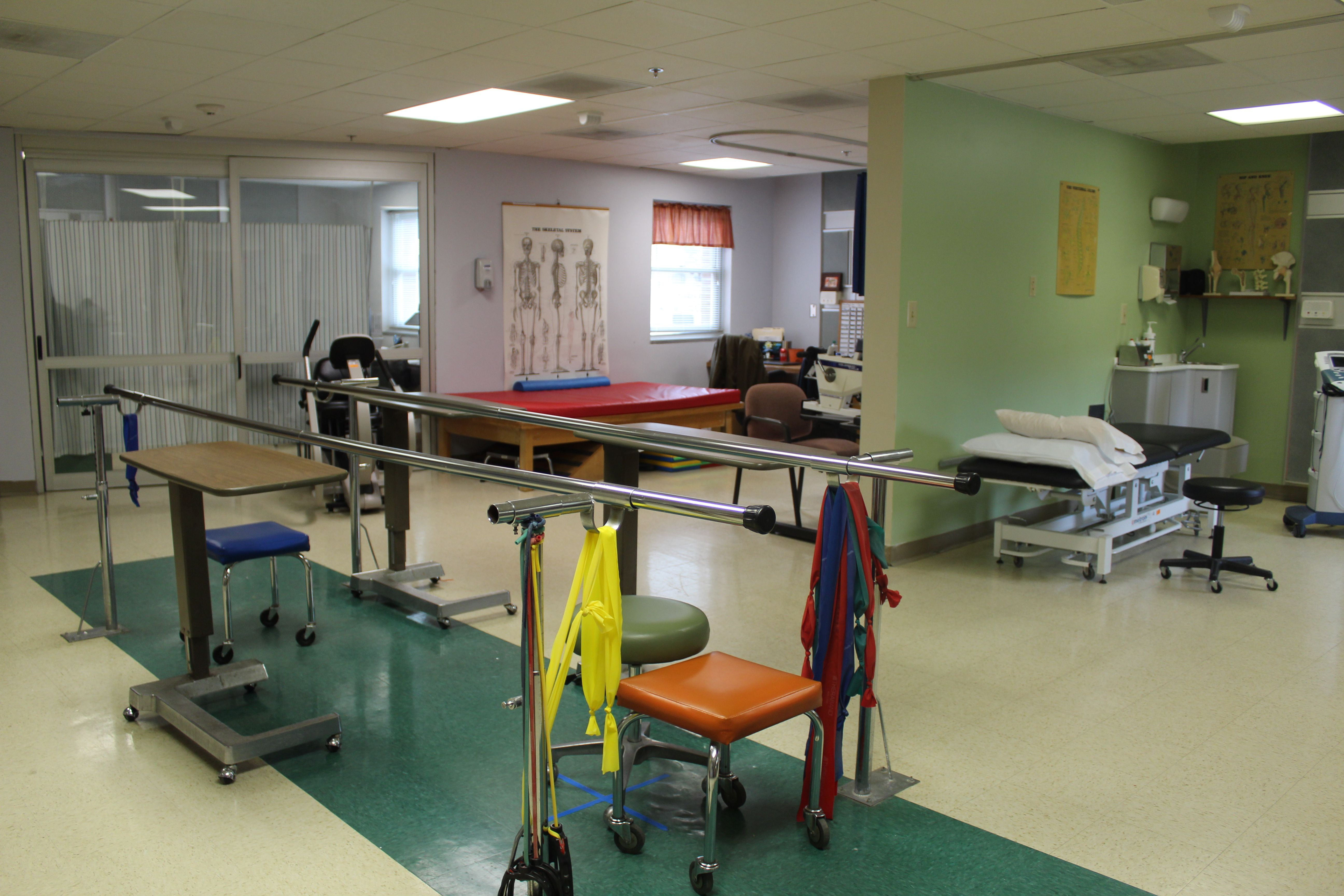 LifeBrite Therapy of Stokes treatment room.