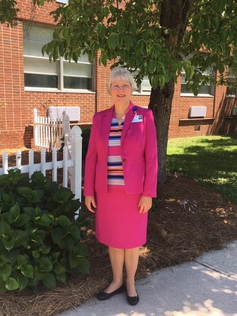 portrait of Pam Tillman outside Lifebrite Community Hospital of Stokes