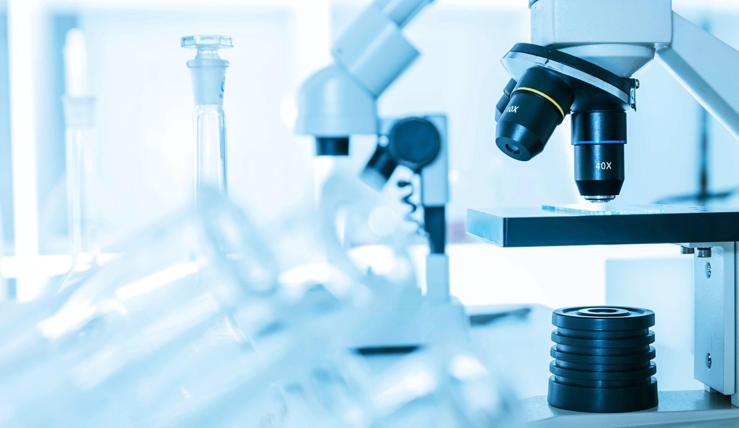 Laboratory scope and equipment