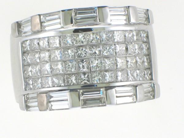 Diamond Invisible Rings