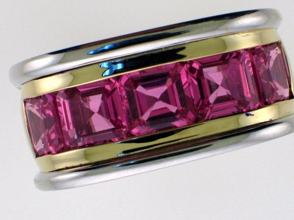 Men's Colorstone Rings