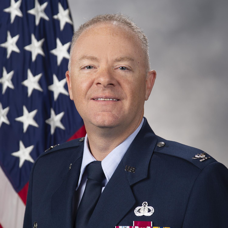 Col. Tyler Schaff - headshot photo