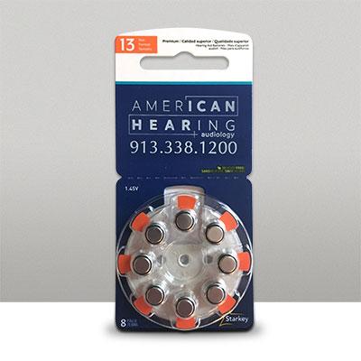 Starkey Hearing Aid Batteries 13