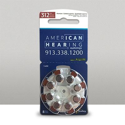 Starkey Hearing Aid Batteries 312