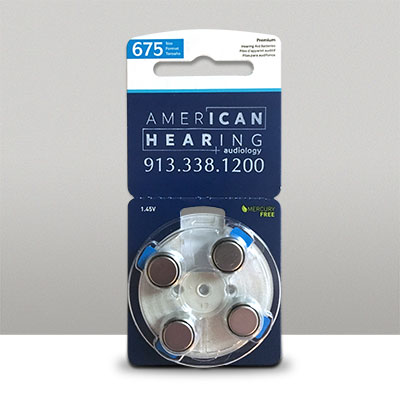 Starkey Hearing Aid Batteries 675