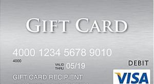 Visa gift card promotion