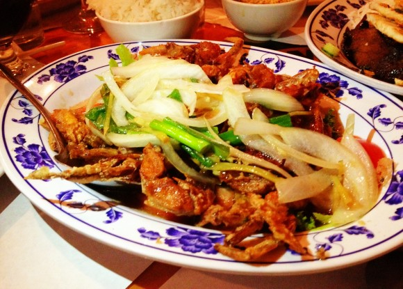 Mekong - soft shell crab special