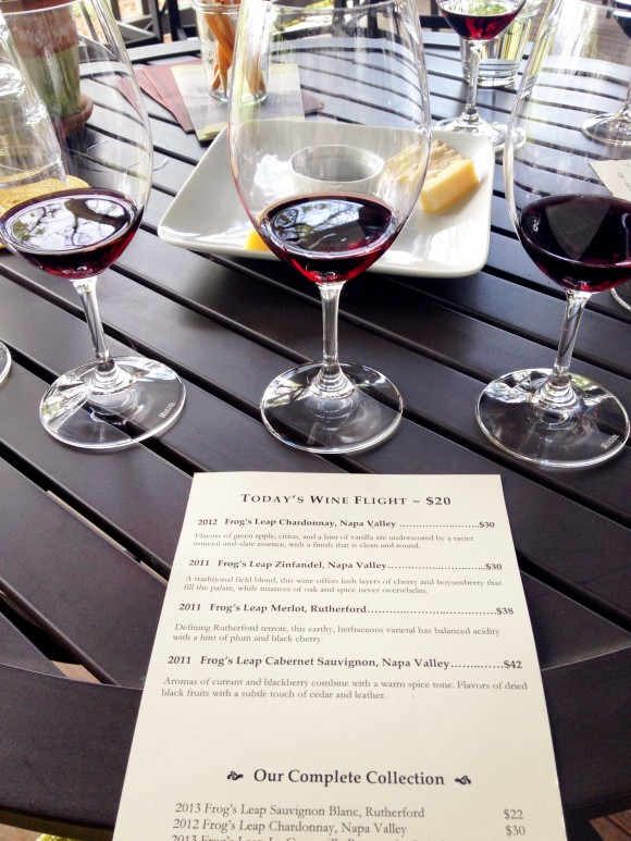 Frog's Leap Signature Seated Tasting