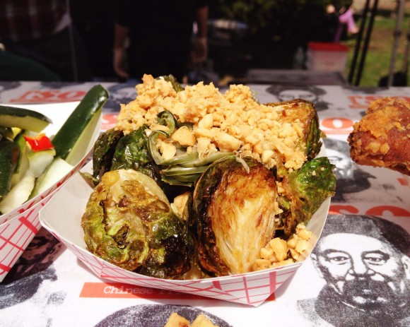 smorgasburg - brussel sprouts from martha