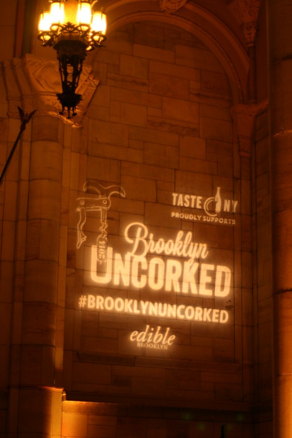 brooklyn uncorked - sign