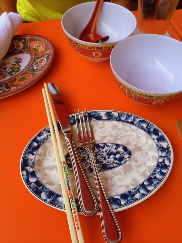 asian place settings